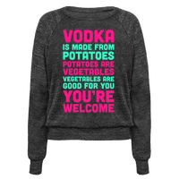 Vodka, Made From Potatoes