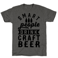 Smart People Drink Craft Beer Tee