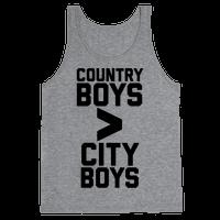 Country Boys > City Boys