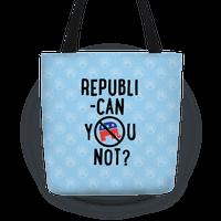 Republican you not?