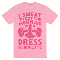 I Sweat To Get The Mermaid Dress Silhouette