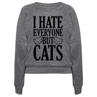 I Hate Everyone But Cats