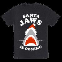 Santa Jaws Is Coming