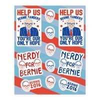 Bernie 2020 STICKER VINYL DECAL DEMOCRATIC SOCIALISM FUTURE FREE FAIR SJW PREZ