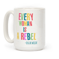 Every Woman Is A Rebel Oscar Wilde Mug