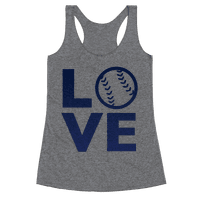 Love Baseball (Blue)