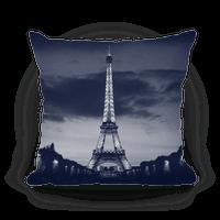 Eiffel Tower Pillow (Navy)