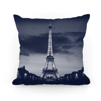 Eiffel Tower Pillow (Navy)