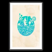 Aqua Friends, Octopus & Whale