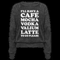 Cafe Mocha Vodka Valium Latte
