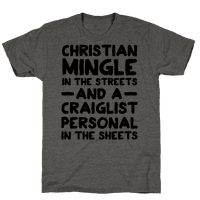 Christian Mingle is the Streets and a Craglist Personal in the Sheets