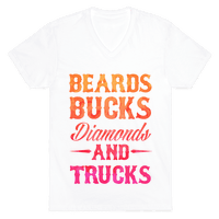 Beards, Bucks, Diamonds and Trucks