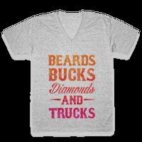 Beards, Bucks, Diamonds and Trucks
