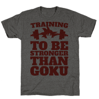 Training To Be Stronger Than Goku