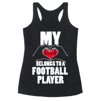 My Heart Belongs To A Football Player