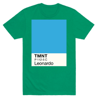 Leonardo Color Swatch Parody