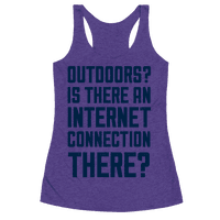 Outdoors?