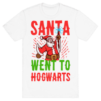 Santa Went to Hogwarts