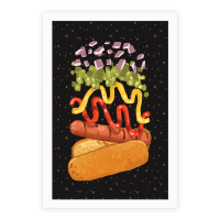 Anatomy Of A Hot Dog