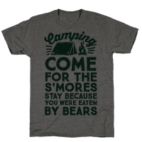 Camping: Come For The S'Mores Stay Because You Were Eaten By Bears