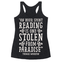 An Hour Spent Reading Is One Stolen From Paradise