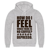 How Do I Feel When There Is No Coffee?