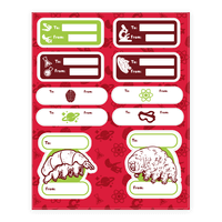 Science Christmas Gift Tags