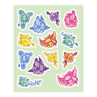 Penis Pattern Sticker