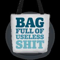 Bag Full Of Useless Shit