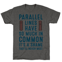 Parallel Lines Have So Much in Common