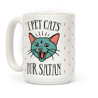 I Pet Cats For Satan Mug