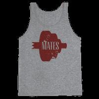 Mates half (red)