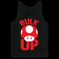 Bulk Up Mushroom ( White Print)