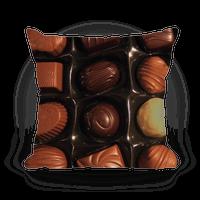 Chocolates Pillow