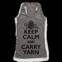 Keep Calm And Carry Yarn (Crochet)