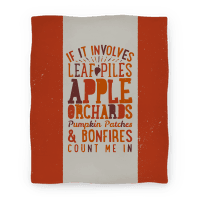 If it Involves Leaf Piles, Apple Orchards, Pumpkin Patches & Bonfires Count Me in