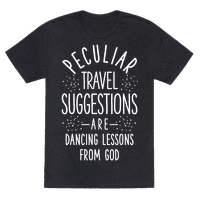 Peculiar Travel Suggestions are Dancing Lessons From God