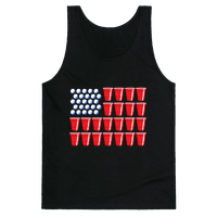 Beer Pong Flag Tank
