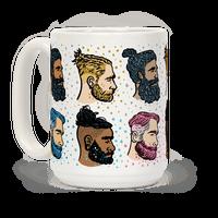 Glitter Beards, Braids and Man Buns Mug