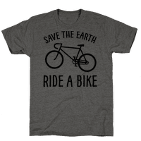 Save The Earth Ride A Bike