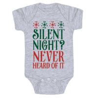 Silent Night? Never Heard Of It
