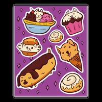 Kawaii Food Dogs