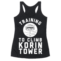 Training To Climb Korin Tower