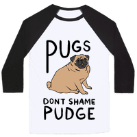 Pugs Don't Shame Pudge Baseball