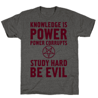 Study Hard, Be Evil