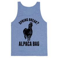 Spring Break? Alpaca Bag
