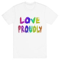 Love Proudly (Weathered)