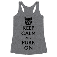 Keep Calm And Purr On