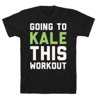 Going To Kale This Workout White Print