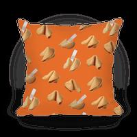Fortune Cookie Pillow (Orange)